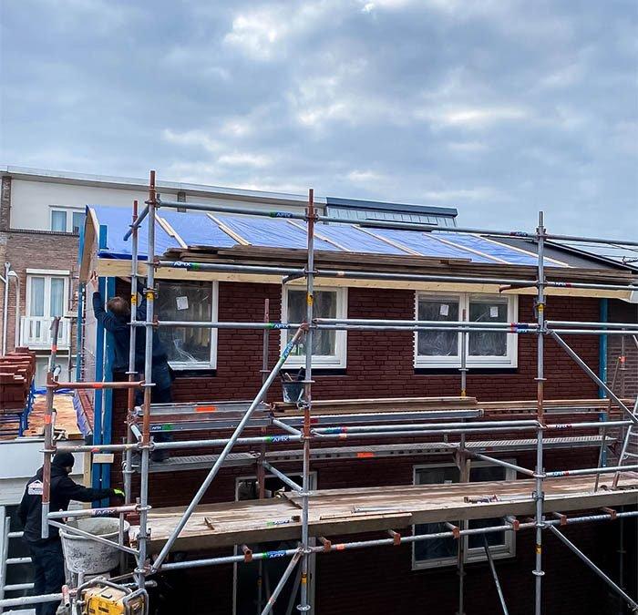Nieuwbouw: bouwen van een zomerhuis