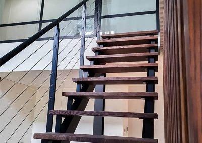 Staalconstructie: trap